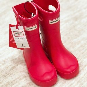 Hunter for Target size 7 Red Toddler Boots
